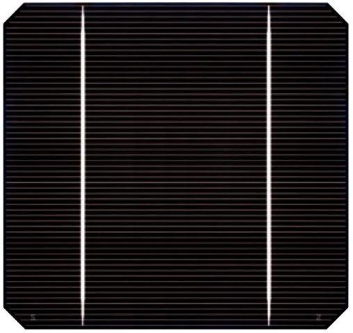 monokristalline Solarzelle